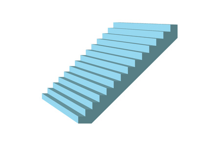 Vector   White, Stairs, Background, Vector, Illustration, Stair, Ladder,  Isolated, Red, Staircase, Up, Stage, Step, Design, Stairway, Success,  Carpet, ...