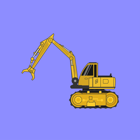 Construction car , Special machines for the Construction .vector