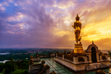Great Golden Buddha statue at the