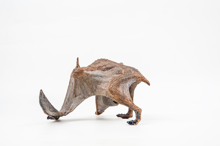 Quetzalcoatlus ,dinosaur on white background  . Stock fotó