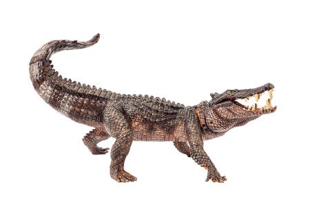 Kaprosuchus , Dinosaur on white background . 版權商用圖片