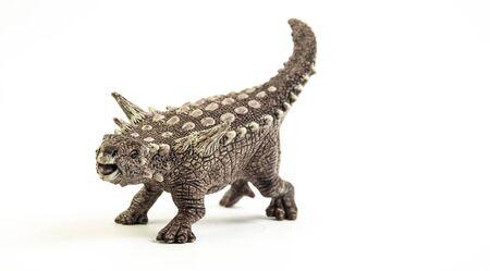 Ankylosauru , dinosaur on white background . Stock fotó