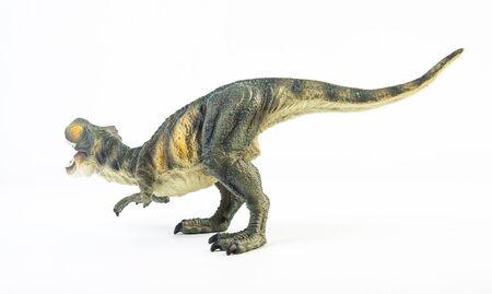 Tyrannosaurus T-rex ,dinosaur on white background Stock fotó