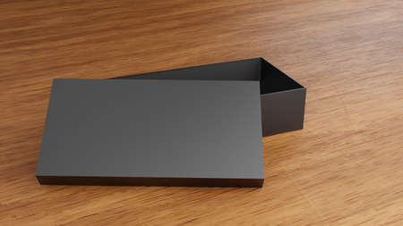 Box Mockups blank packaging box 3d rendering