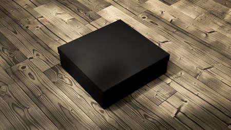 Box Mockups blank packaging boxe 3d rendering 版權商用圖片
