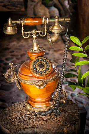 ancient telephone: ancient telephone is classic design