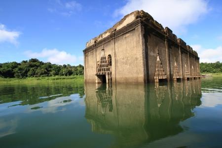 leavings: temple Muang Badan  Underworld  Kanchanaburi, Thailand