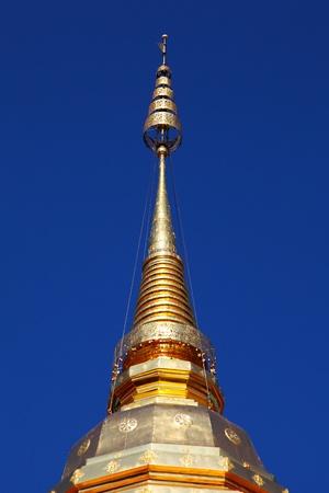 pinnacle: Pinnacle of golden pagoda, Wat Phra That Doi Suthep