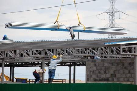 Construction worker Zdjęcie Seryjne