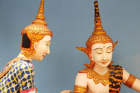 deity: thai deity statue