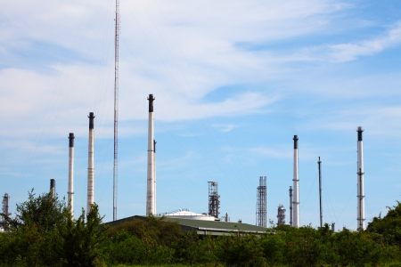 Oil and Gas Refinery Plant photo