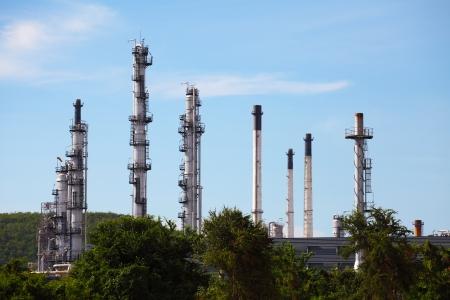 Petrochemical Plant Zdjęcie Seryjne