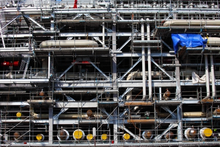 Drilling Platform under Construction Zdjęcie Seryjne - 24089717