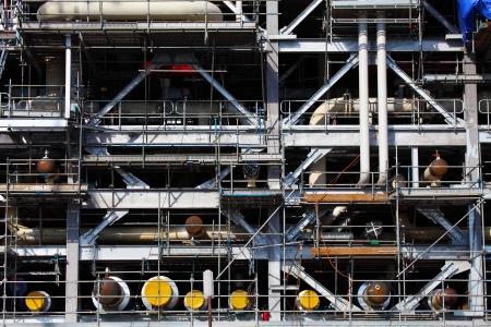 Drilling Platform under Construction Zdjęcie Seryjne - 24089720