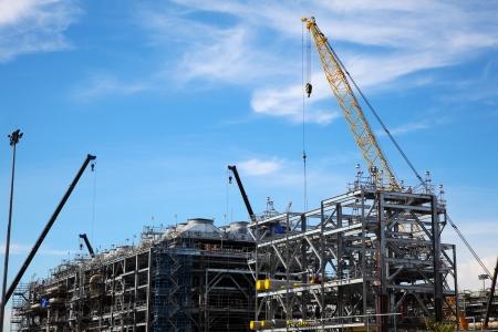 The Construction of Drilling Platform Zdjęcie Seryjne - 24538418