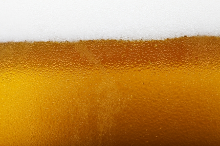 Close-up picture of a beer with foam and bubbles Zdjęcie Seryjne - 25117733
