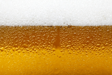 Close-up picture of a beer with foam and bubbles Zdjęcie Seryjne - 25117736