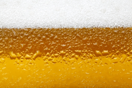 Close-up picture of a beer with foam and bubbles Zdjęcie Seryjne - 25117738