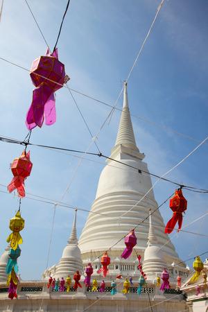 White Pagoda at Wat Prayoon in Bangkok,