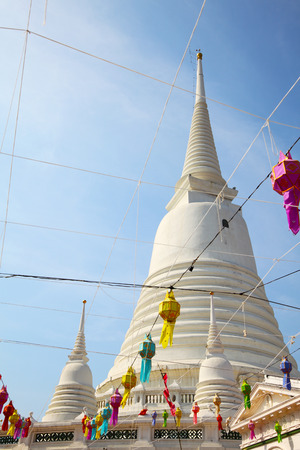 White Pagoda at Wat Prayoon in Bangkok, Cultural Heritage Conservation Award of Excellence by Unesco