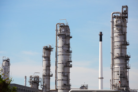 gas refinery: Oil and Gas Refinery Plant