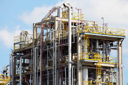 petrochemical: Petrochemical Plant in Industrial Zone