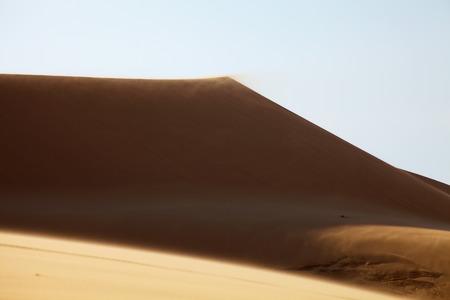 ne: White Sand Dunes in Mui Ne, Vietnam Stock Photo