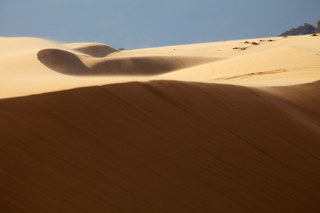 Moving Dunes in Mui Ne, Vietnam