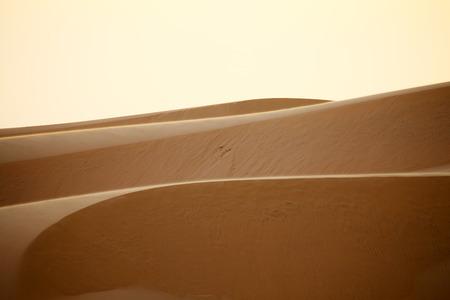 ne: Red Sand Dunes in Mui Ne, Vietnam Stock Photo