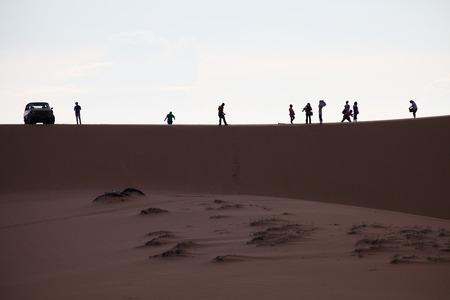 ne: Photo of Sand Dunes with Travellers, Mui Ne, Vietnam