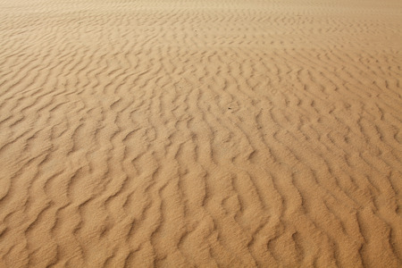 砂のテクスチャ、Mui Ne、ベトナム