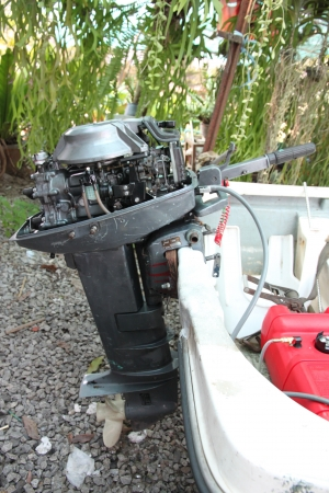 outboard: Outboard engines