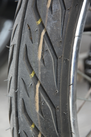 Lateral Motorcycle tire Style  photo