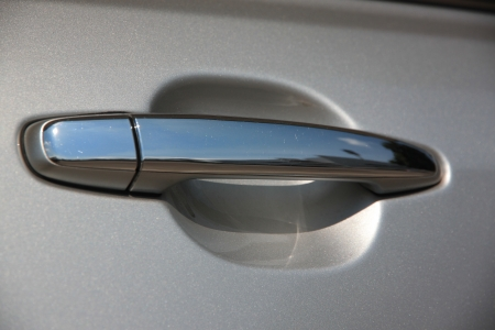 The car door handlebar