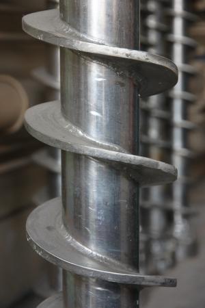 The aluminum screws is a make machine.