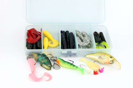 rapala: The lure fishing Made of wood and rubber trees.It make Color Afterwards.