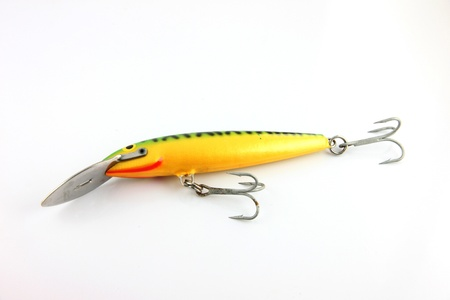 The Lure on white Background. Stock Photo - 18814845