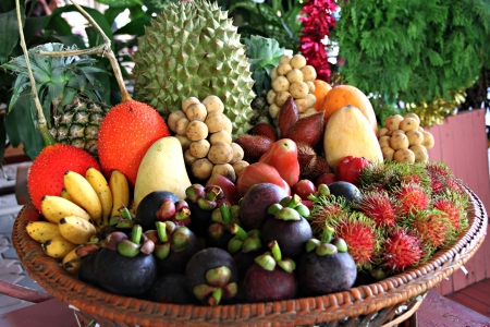 Mixed Fruits of Domestic in Thailand.