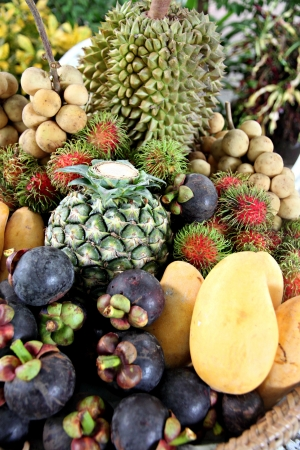Many of fruits in Thailand and fruits Domestic in Thailand. photo