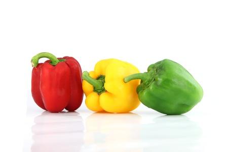 ピーマンとピーマンの 3 つのアクションは、栄養価の高いです。