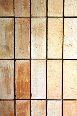 The Old stone tile floor is a rectangular cloth. Stock Photo - 21590375