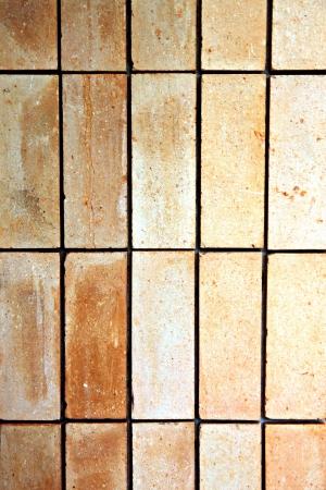 floor cloth: The Old stone tile floor is a rectangular cloth.