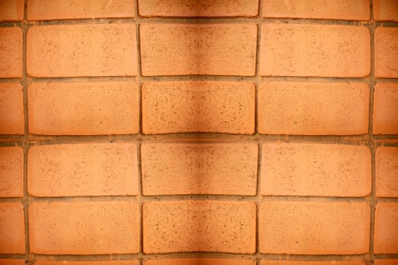 The Picture Brick wall with orange of background. Stock Photo - 21590380