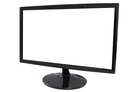 The Picture Frame LED computer screen on white background.