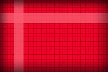 L'image Fond rouge dans un style boîte concaténation Banque d'images
