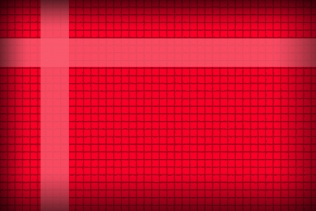 L'image Fond rouge dans un style boîte concaténation
