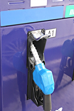 The Picture in Gas station and Refueling equipment. photo
