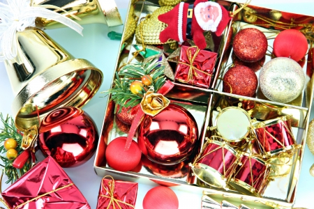 Accessory decorations can use it in Christmas or New Year  photo