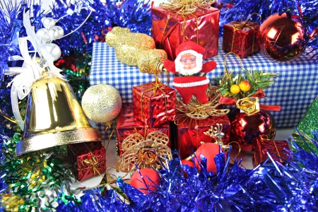 Accessory decorations in Christmas or New Year  photo