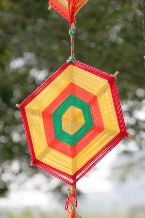 apporter: Amulette color�e pour apporter la bonne fortune. Banque d'images
